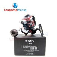 Reel Kenzi Navy  Power Handle, Metal Body 8BB