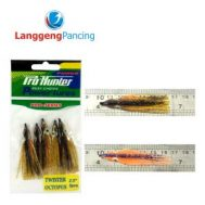 Umpan Pancing Pro Hunter Twister Octopus 2.5