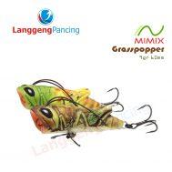 Popper Grasspopper Mimix 9gr 6cm Umpan Pancing