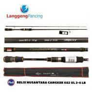 Joran Relix Nusantara Cangkek Generation S 628UL 2-6lbs