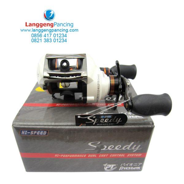 Reel Baitcasting Pioneer Speedy SP201 Left Handle