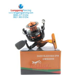 Reel Daido Blackmax Spin Free Spoll dan Handle