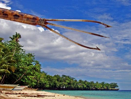 Kalawai, Senjata Tradisional Khas Papua untuk Berburu Ikan