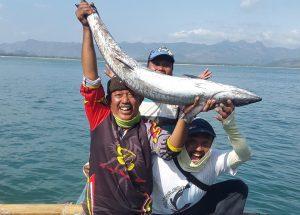 Spot mancing ikan tengiri Palbong Semarang