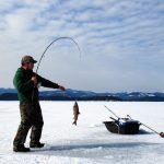 Ice Fishing, Sensasi Memancing Ikan di Musim Dingin