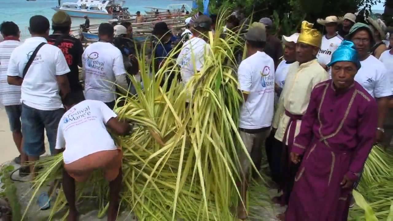 Mane'e, Sebuah Tradisi Kuno Manangkap Ikan yang Masih Dilestarikan Masyarakat Pulau Intata Sulawesi Utara