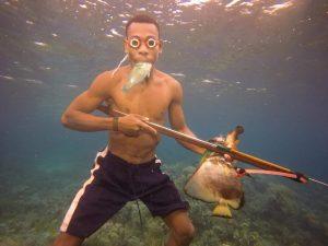 Molo, Teknik Menangkap Ikan Masyarakat Papua