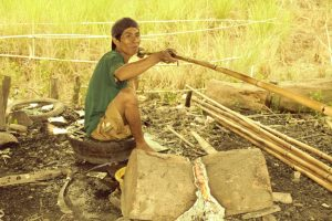Tantaran Unjun, Piranti Mancing Tradisional Ampuh Masyarakat Banjar Kalimantan Selatan.