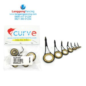 Ring Oseg Curve Gold 7pcs