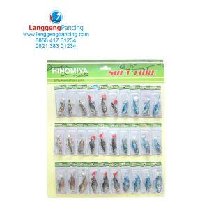 Hinomiya Softlure Fish Hook 60mm – 80mm