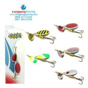 Spinner Snap Hoox Double Blade Inline 6gr
