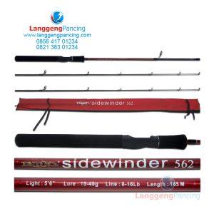 Joran Blood Sidewinder 602 Spinning 8-16lbs Free 1 Top Section