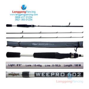 Joran Blood Weepro 602 Spinning 8-16lbs Free 1 Top Sect – PVC