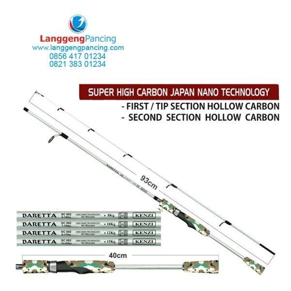 Joran Kenzi Baretta Spin SC602 Super High Carbon
