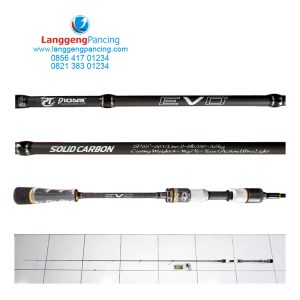 Joran Pioneer Evo Solid Carbon SP661 Ultralight