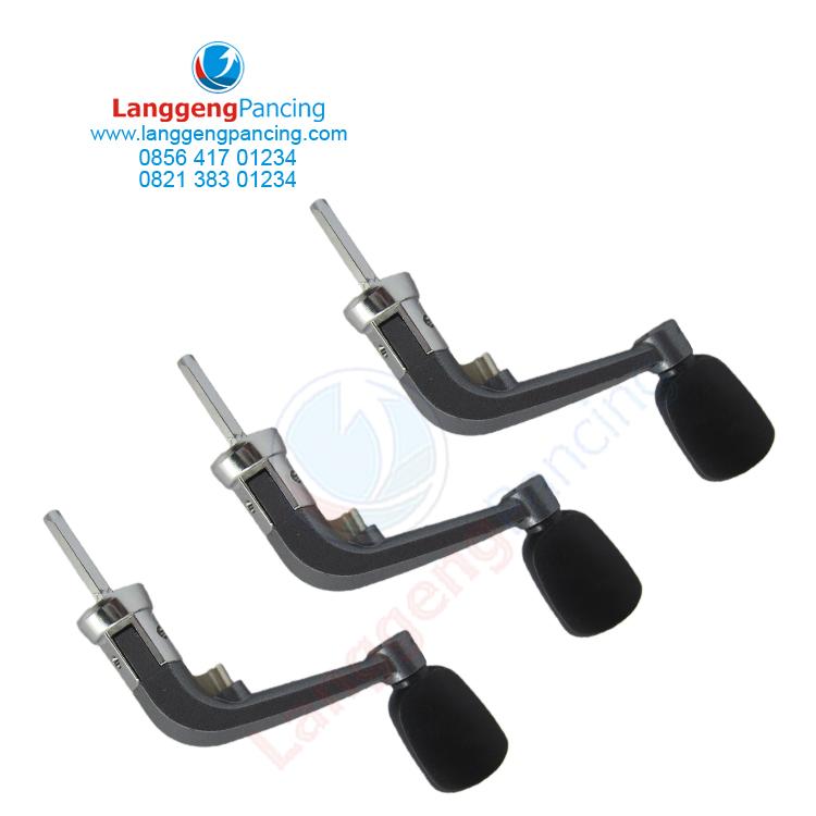 Handle Reel Kenzi Size 3000 - 5000 Metal Lipat Bukan Power Handle