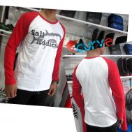 Kaos Mancing Curve Salt Addicted
