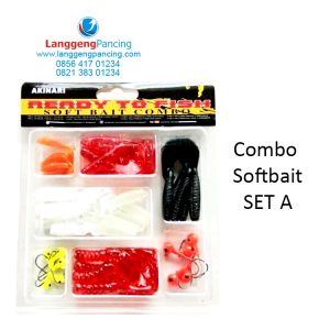 Paket Soft Bait Akinari Combo