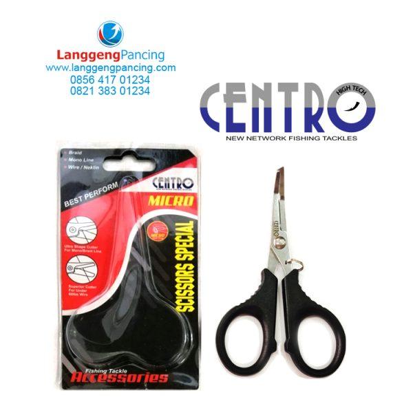 Gunting Split Centro Micro Scissors Special