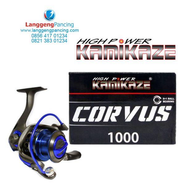 Reel Kamikaze Corvus Spin 8+1BB