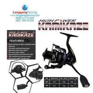 Reel Kamikaze Xinus Spin 6+1BB