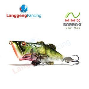 Popper Mimix Barra X 24gr 7.5cm