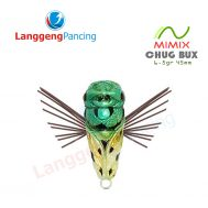 Popper Chug Bux Mimix 6.5gr 4.6cm Umpan Pancing