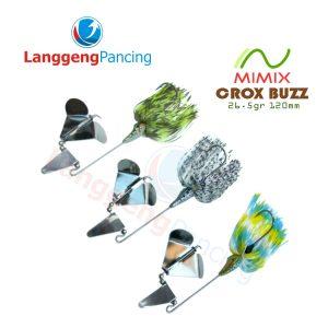 Spinner Buzz Bait Mimix Crox Buzz 26.5gr 12cm Umpan Pancing