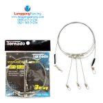 Rangkaian Neklin Tornado Stainless Steel Wire