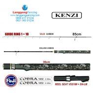 Joran Kenzi Cobra 165 Spin 1+10 Ring Guide