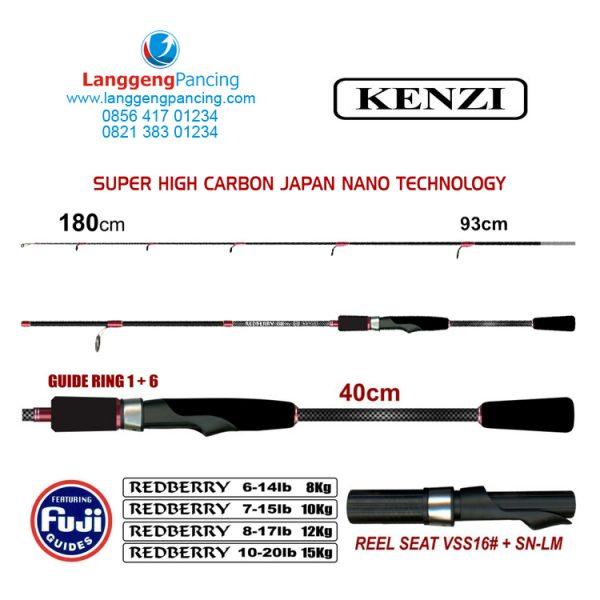 Joran Kenzi Redberry 602 Fuji Guide Spin PVC
