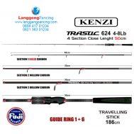 Joran Kenzi Trastic 624UL Traveler Stick 4-8lb PVC