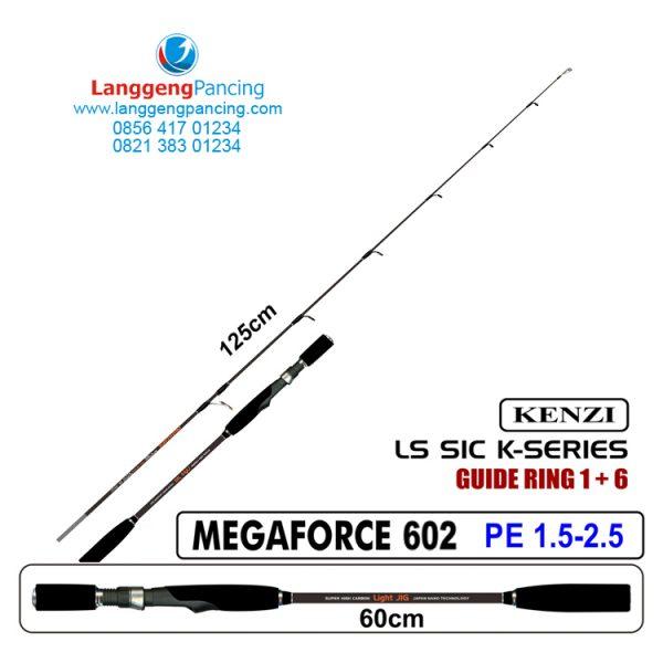Joran Kenzi Megaforce 602 PE1.5-2.5 Slow JIG