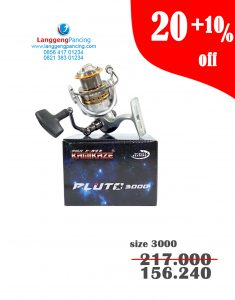 Reel KAMIKAZE Pluto 3000 Spin