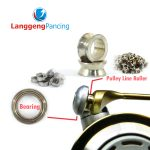Bearing Line Roller Reel Spinning Universal Size 1000 - 8000