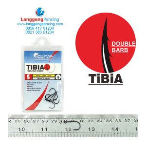 Kail Curve TiBiA Double Barb 1053