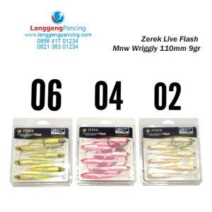 Soft lure ZEREK Live Flash Wriggly