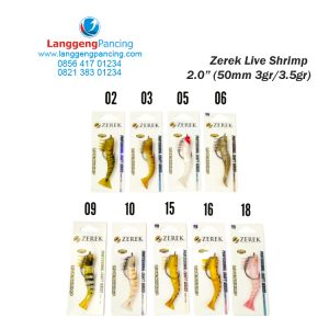 Softlure ZEREK Live Shrimp Salt Water