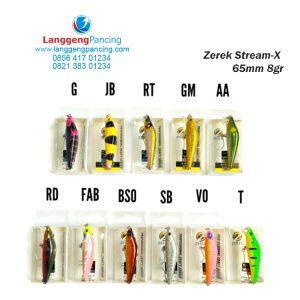 Minnow ZEREK Stream-X 65mm UL Sinking