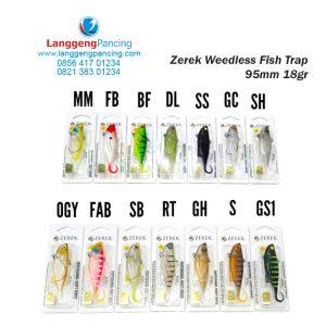 Softbait ZEREK Weedless Fish Trap