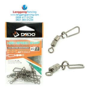 High Speed Double Rolling Swivel Snap Daido