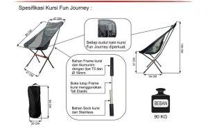 Kursi Lipat Portable Curve Fun Journey