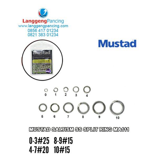Split Ring Mustad Saltism SS