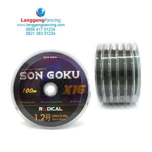 Senar PE Radical Son Goku X16 100m Connect